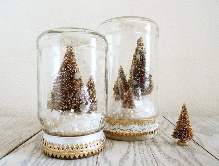 2014-golden-christmas-tree-mason-jar-snow-globe-craft-diy-christmas-decoration-f37373
