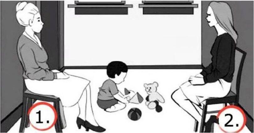 ΤΕΣΤ: Ποιά Είναι Η Μητέρα Σε Αυτό Το Σκίτσο; Τι Συμβολίζει Για Την Προσωπικότητά Σας